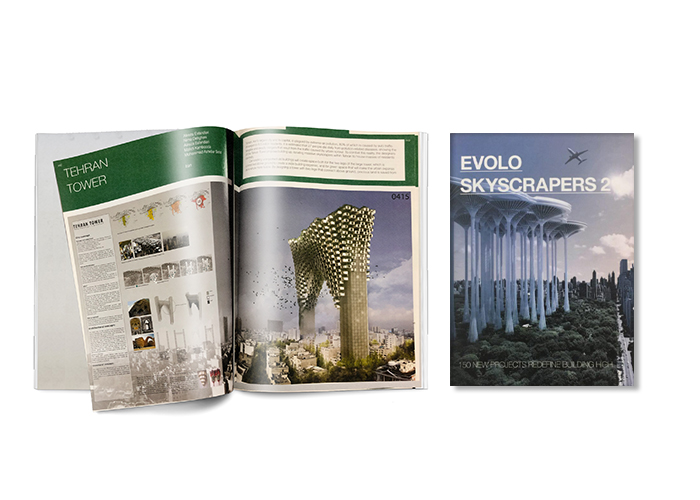 Skyscraper book evolo